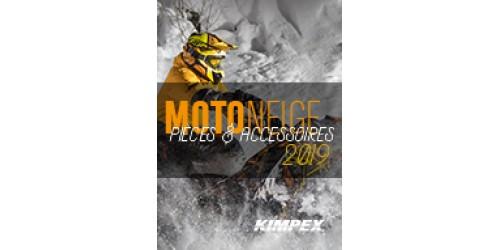 Kimpex 2019 Catalogue Motoneige pièces de remplacement