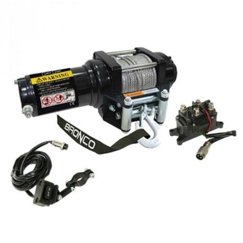 Winch (treuil) BRONCO 3500 LBS avec câble synthétique